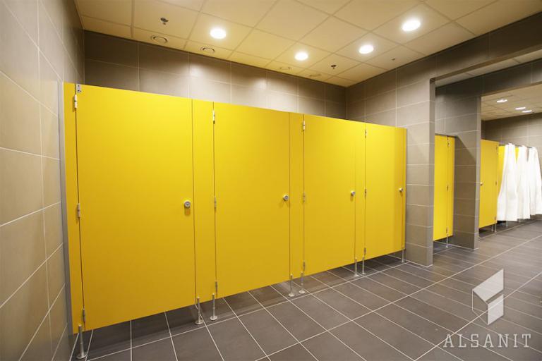 kabiny natryskowe HPL