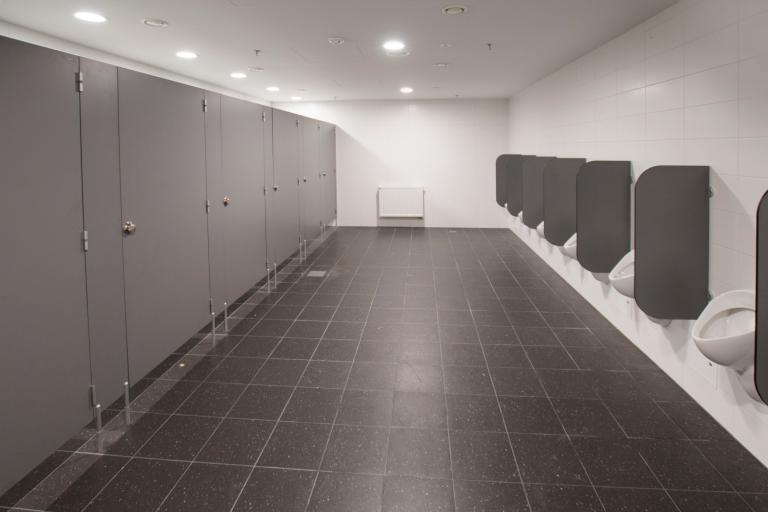HPL-Urinaltrennwände
