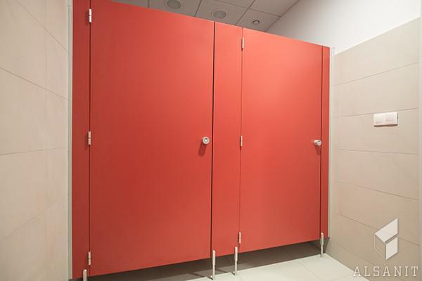 kabiny sanitarne w łazience