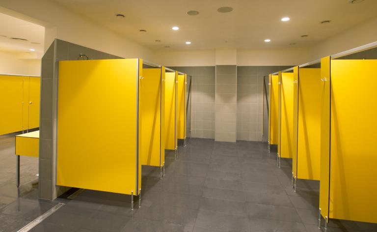 Zabudowy sanitarne HPL