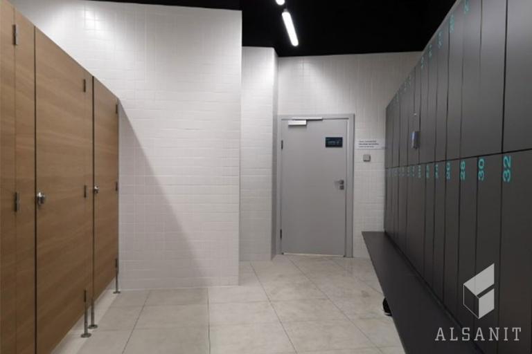 kabiny HPL w łazience