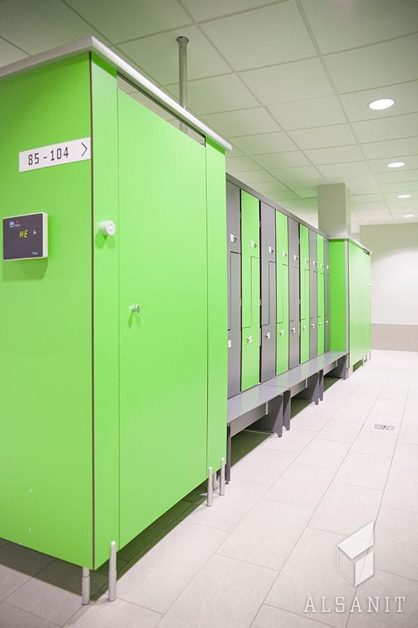 przebieralnie i szafy z HPL