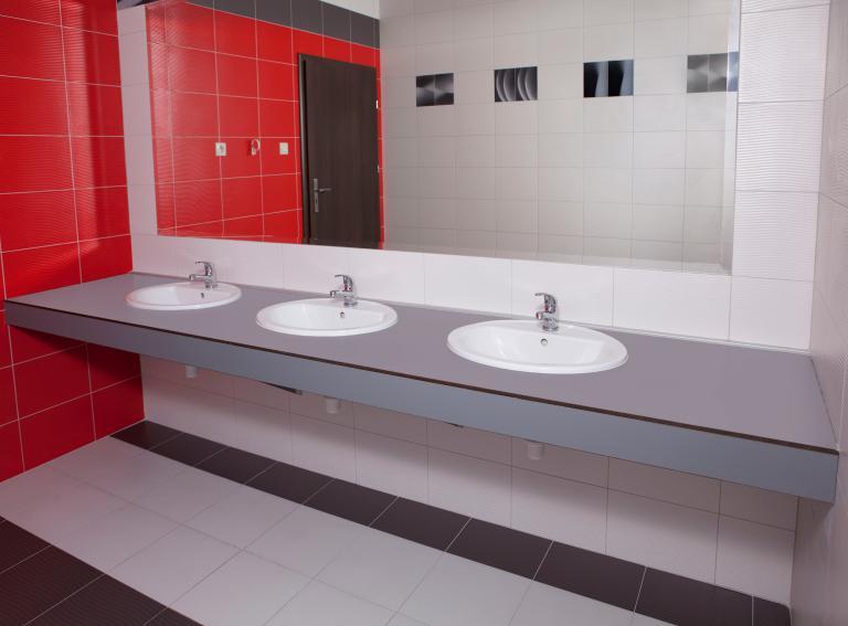 blat łazienkowy HPL