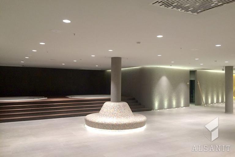 eleganckie wnętrze hotelu